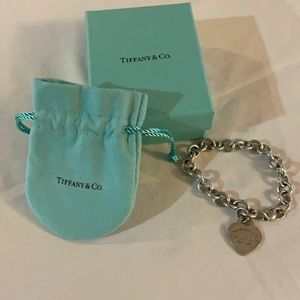 Authentic Silver Tiffany Bracelet